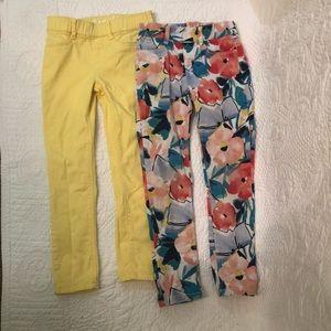 Set of 2 Gymboree Super Skinny Girls Jeans